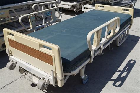 used hospital bed table for sale hill rom advance beds reconditioned hospital direct