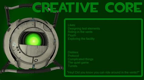 P2infinities Personality Cores Image Portal 2