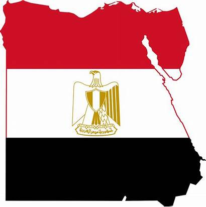 Egypt Flag Eagle Map Svg Clipart