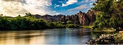 Salt River Arizona Lower Lake Saguaro Ranch
