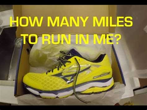 miles   replace  running shoes