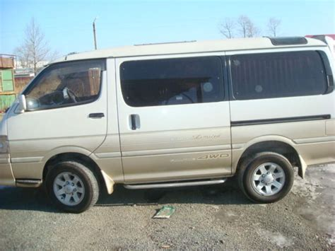 Toyota Hiace Picture by 1995 Toyota Hiace Pictures For Sale