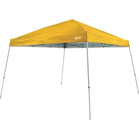 quest 10x10 instant up canopy quest q64 10 ft x 10 ft slant leg instant up canopy