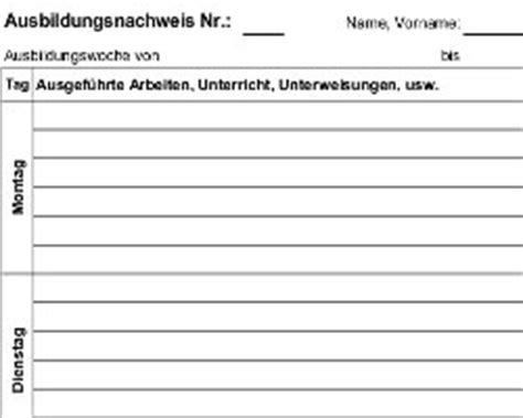 tabellarischer wochenbericht betriebspraktikum schule