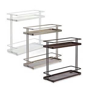 org 2 tier cabinet organizer bed bath beyond