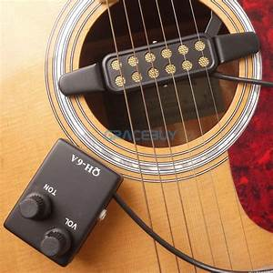 Acoustic Guitar Pickup Magnetic Preamp Eq Equalizer Tuner