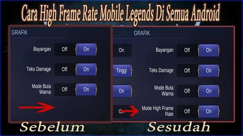 High Frame Rate Mobile Legends Nova 2i