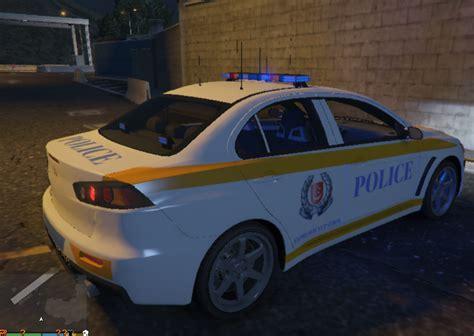 Singapore Police Mitsubishi Lancer Evo X (2 Liveries