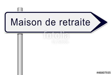 quot panneau direction maison de retraite quot stock photo and royalty free images on fotolia pic