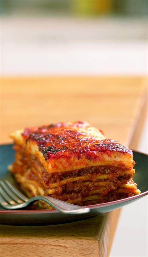 recette de cuisine tf1 13 heure recette lasagne bolognaise à la mozzarella