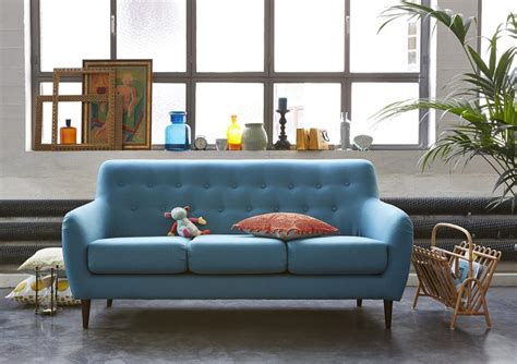 la redoute canape canapé bleu la redoute intérieur
