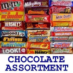 American Candy Bars List
