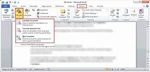 How to translate word document from english to for Translate my document to spanish