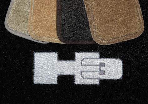 hummer h3 floor mats 2006 2010 yellow