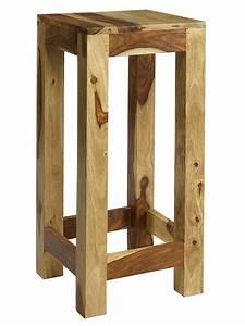 Tabouret Bar Bois : tabouret de table en bois ~ Teatrodelosmanantiales.com Idées de Décoration