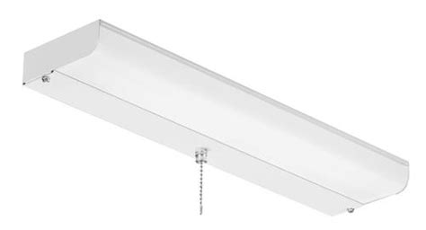 fluorescent closet light american fluorescent 18 quot 1 light 15 watt t8 white direct