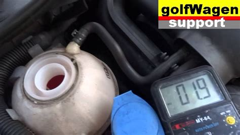 vw golf  problem  coolant  coolant liquid level