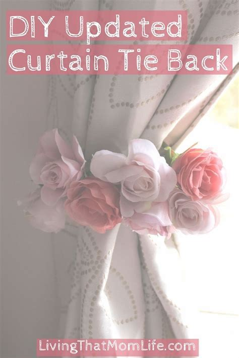 25  best ideas about Curtain Ties on Pinterest   Diy