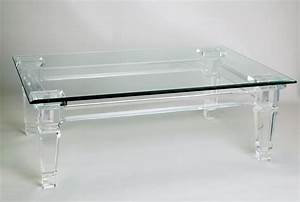 acrylic cocktail tables calypso acrylic cocktail table With used acrylic coffee table
