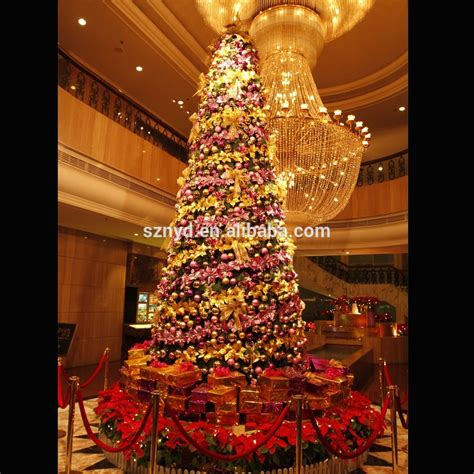 lighted christmas tree decoration large artificial lighted indoor christmas tree decoration