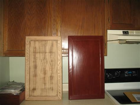 diy restain kitchen cabinets back to post painted oak kitchen cabinets before and 6886