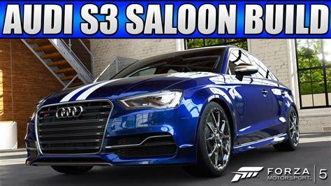 Forza Custom Cars Audi Saloon July Dlc