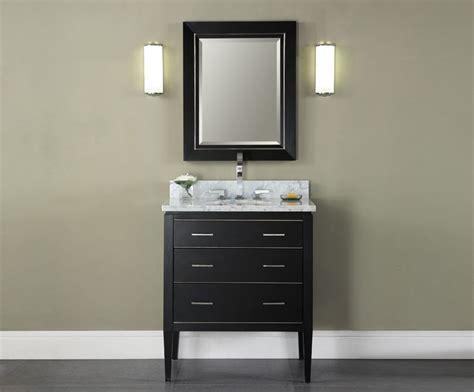 18 bathroom vanities manhattan 30 inch black contemporary bathroom vanity
