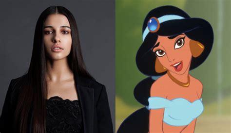 aladdin actress naomi scott jasmine  remake