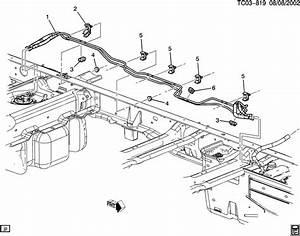 2004 Chevrolet Silverado Ck310 314 Fuel Supply System
