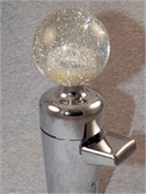 semi shifter knobs shiftopperz with clear glitter knob custom shifter