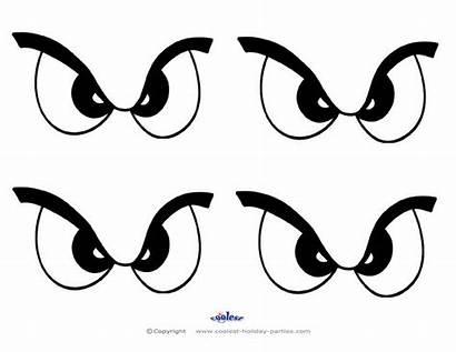 Scary Eye Printable Printables Pumpkin Eyes Stencils