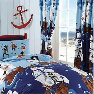 Piraten Deko Kinderzimmer : kinderzimmer gardine piraten schiff bettw sche ~ Lizthompson.info Haus und Dekorationen