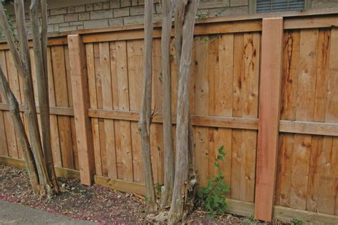 Building A Wood Fence With Metal Posts?