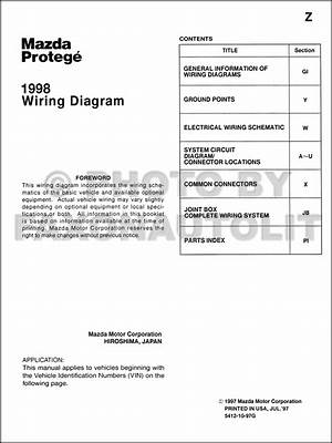 1999 Mazda Protege Wiring Diagram Original 24449 Getacd Es