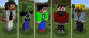 YouTuber Pets Add On Minecraft PE Mods Addons