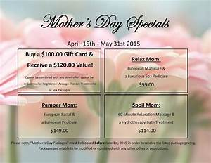European Day Spa & Salon's Mother's Day Specials for 2015 ...
