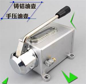 Cnc Router Machine Manual Oil Pump  Lubrication Box