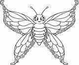 Butterfly Coloring Pages Print Printable sketch template