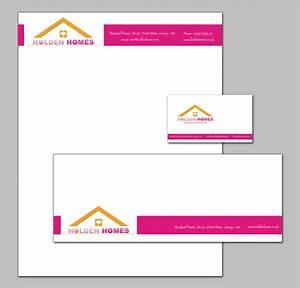company branding stationary set with a letterhead envelope With letter stationery and envelopes