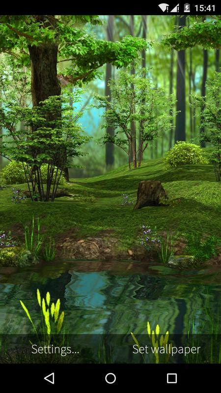 Animal 3d Live Wallpaper - 3d deer nature live wallpaper apk free