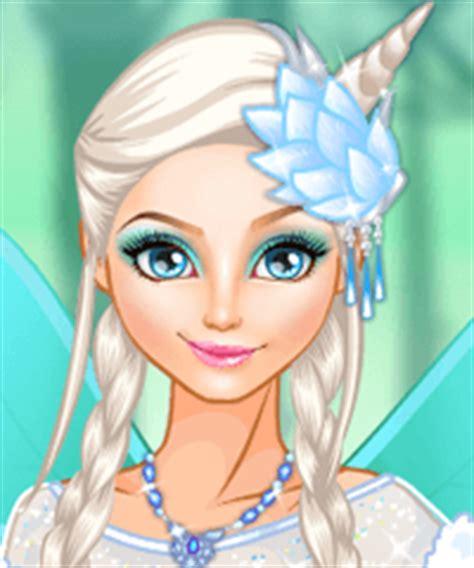 elsa ice fairy   game