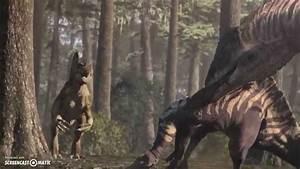 Spinosaurus vs. Carcharodontosaurus - YouTube