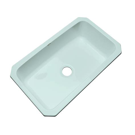 Thermocast Kitchen Sinks Cleaning by Thermocast Manhattan Undermount Acrylic 33 In Single Bowl