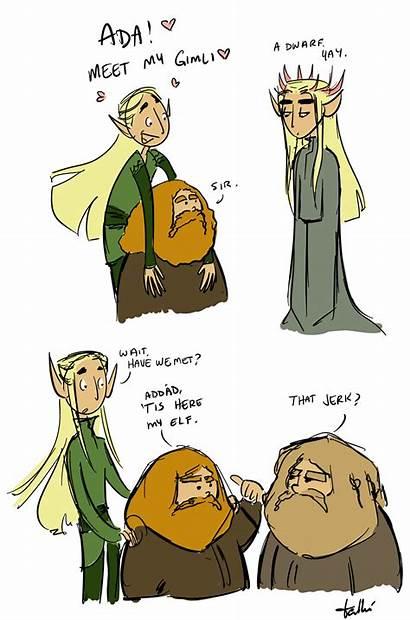 Thranduil Doesn Elf Specific Comics Parents Meeting