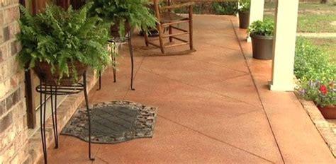 score  acid stain  concrete slab porch  patio todays homeowner