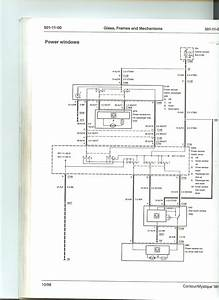 Power Window Wiring Diagram - Interior