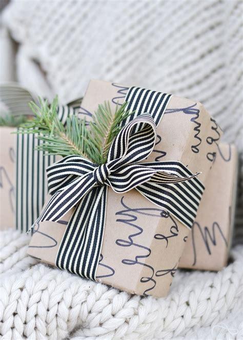 beautiful ways  wrap  christmas gift