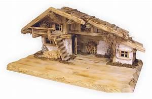 Weihnachtskrippe Holz Selber Bauen : krippenstall inzell krippe bauen krippe weihnachten holz weihnachtskrippe selber bauen und ~ Buech-reservation.com Haus und Dekorationen