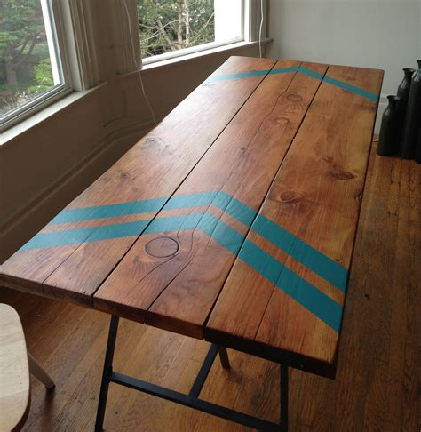 make kitchen table make your own desk modern legs