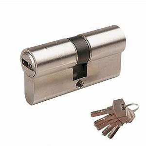 Cylindre De Sécurité : cylindre de s curit double entr e 70mm serrures et ~ Edinachiropracticcenter.com Idées de Décoration